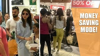 Virat Kohli & Anushka Sharma On Shopping Spree In Cape Town