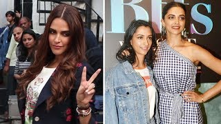 Deepika Padukone & Anisha Padukone On Sets Of Vogue Bffs With Neha Dhupia
