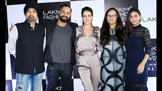 Katrina Kaif's HOT Sister Isabelle Kaif At Lakme Fashion Week 2018