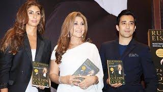 Shweta Bachchan & Rahul Khanna At Launch Of Rukshana Eisa 1st Book The Golden Code