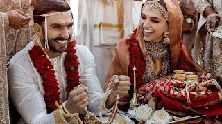 Ranveer Singh - Deepika Padukone Royal Wedding In Italy - Exclusive First Picture