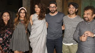 Ayushmann Khurrana With His Family Spotted At Pali Bhavan