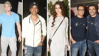 Sohail Khan, Tusshar Kapoor, Sonali Bendre At The Special Screening of Movie My Birthday Song