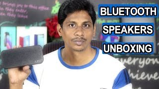 Best Bluetooth Speakers Under 6000 | Unboxing | Telugu