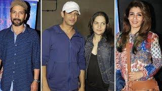 Sharman Joshi, Raveena Tandon At Screening Of Onir Next Yoodlee Films Movie Kuchh Bheege Alfaaz