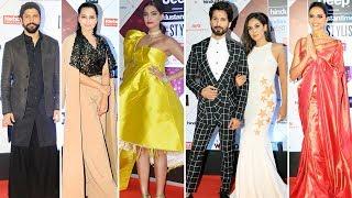 HT India Most Stylish Awards 2018 Red Carpet - Sonam Kapoor, Deepika, Shahid, Kriti Sanon