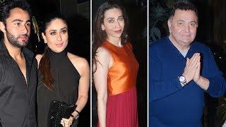 Kareena Kapoor, Karishma Kapoor, Rishi Kapoor Spotted At Randhir Kapoor's Birthday Party