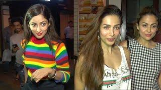 Yami Gautam, Malaika Arora, Amrita Arora Spotted For Dinner In Bandra