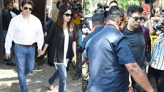 Madhuri Dixit-Nene And Karan Johar Pay Visit To Anil Kapoor's House