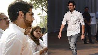 Arbaaz, Aditya Thackeray, Maniesh Paul Reach Celebration Sports Club To Pay Last Respects To Sridevi
