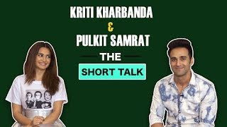 The Short Talk : Watch Kriti & Pulkit Open Up On Love, Delhi Food & Of course 'Veerey Ki Wedding'