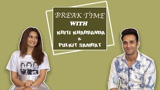 Break Time : Pulkit Samrat & Kriti Kharbanda Take Up The Dating App Challenge