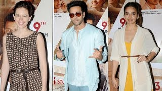 Kalki Koechlin, Kriti Kharbanda, Pulkit Samrat At Screening Of Movie 3 Storeys