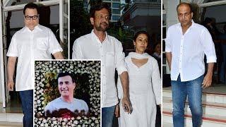 Ashutosh Gowariker, Kay Kay Menon And Others At Prayer Meeting Of Late Actor Narendra Jha