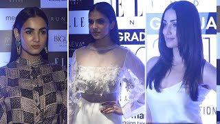 Yami Gautam, Sonal Chauhan & Malavika Mohanan At ELLE Graduates Evening 2018