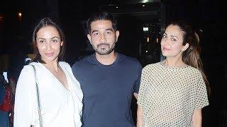 Malaika Arora & Amrita Arora With Her Husband Shakeel Ladak Spotted At Yauatcha | Bollywood Bubble