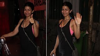 Nimrat Kaur Spotted At Silver Beach Cafe | Bollywood Bubble