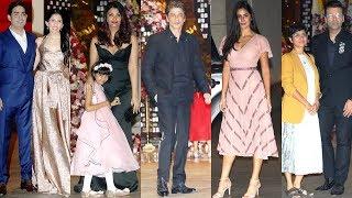 UNCUT- Akash Ambani - Shloka Mehta's Engagement Bash: Aishwarya Rai, SRK, Katrina Kaif, Karan Johar