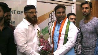 Trs Leader Mir Asad Joins Congress As GHCC Minority Vise Chairman | Meets Adbullah Sohal |