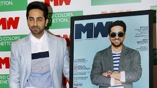 Ayushmann Khurrana At The Unveiling Of 'Man's World' Magazine's Latest Edition