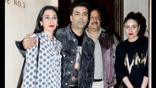 Kareena Kapoor Khan, Karishma Kapoor & Karan Johar Spotted At Manish Malhotra's Party