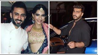 Arjun Kapoor Visits Anil Kapoor's House | Sonam Kapoor Wedding Preparations