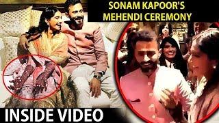 Sonam Kapoor's GRAND Mehndi Ceremony | Anand Ahuja, Arjun Kapoor, Janhvi kapoor  - UNCUT