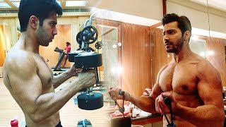 Varun Dhawan's Hard Gym Workout For Kalank | Six Pack Abs Workout