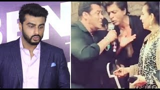 Arjun Kapoor Reaction On Salman Khan's CRAZY DANCE At Sonam's Reception