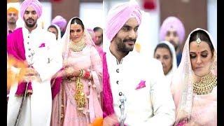 Neha Dhupia Gets Married to Angad Bedi | Neha-Angad Wedding