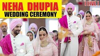 Neha Dhupia - Angad Bedi Wedding Ceremony | LIVE Footage