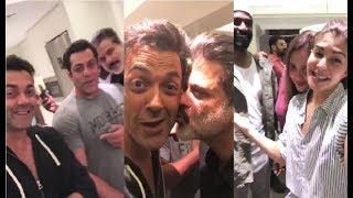 Race 3 PARTY at Salman Khan's House | Race 3 Trailer | Bobby Deol  Jacqueline Fernandez |Salman Khan