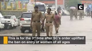 Security beefed up as Sabarimala Temple set to reopen gates for women today