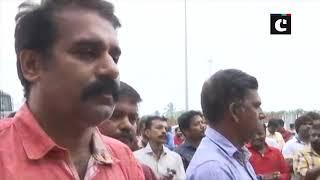 Sabarimala row: Trupti Desai faces massive protests at Kochi airport
