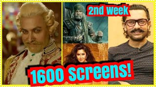 Thugs Of Hindostan Screen Count In Second Week