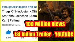 Thugs Of Hindostan Trailer Creates History By Becoming 1st Indian Trailer To Cross 100 Million Views