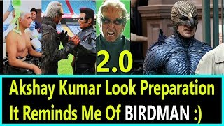 Akshay Kumars 2.0 Making Video Review It Reminds Me Of BIRDMAN