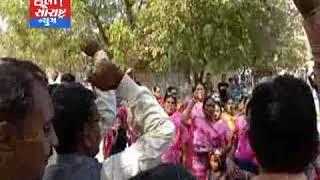 દામનગર-એકતા યાત્રાનું ઉષ્માભેર સ્વાગત કરાયું