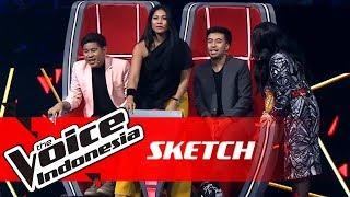 Rebutan Antar Coach? Sudah Biasa! | SKETCH | The Voice Indonesia GTV 2018
