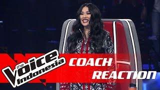 Kontestan Ini Bikin Coach Titi DJ Berdiri! | COACH REACTION | The Voice Indonesia GTV 2018