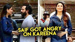 Saif Ali Khan Got Angry With Kareena Kapoor Khan At Mehboob Studios | Bollywood News