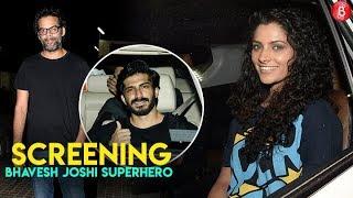 Bollywood Stars Attends The Screeening Of Bhavesh Joshi Superhero