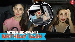 Ritesh Sidhwani Birthday Bash   Ranveer Singh, Kareena Kapoor Khan , Malaika Arora Khan