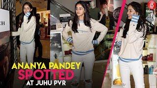 Ananya Pandey Spotted At Juhu PVR