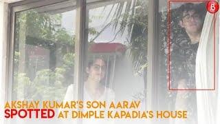 Akshay Kumar's Son Aarav Spotted At Dimple Kapadia's House