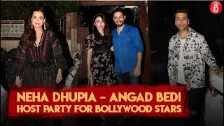 Neha Dhupia - Angad Bedi Host Party For Close Friends | Angad Bedi | Neha Dhupia | Karan Johar