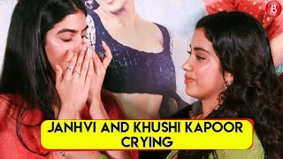 Janhvi Kapoor And Khushi Kapoor CRIES At Dhadak Trailer Launch | Janhvi Kapoor | Bollywood