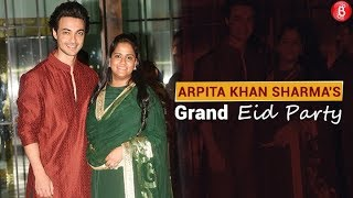Bollywood Stars At Arpita Khan Sharma's Grand EID Party