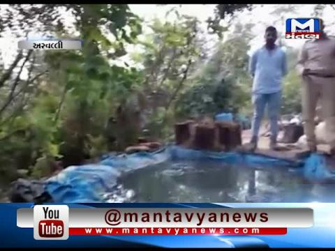 Aravalli: Police has raided on 5 Liquor Furnace | Mantavya News
