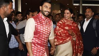 Deepika Padukone And Ranveer Singh GRAND WELCOME In Mumbai After Marriage In Italy